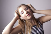 Enjoy the music — Stock Photo