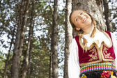 Young girl in Nature — Stock Photo