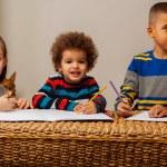 Mixed race kids — Stock Photo #40236715