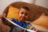 Mixed race child — Stock Photo