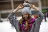 Ice - Skating — Stock Photo