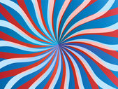 Poster abstract background, circus waves — Stock Photo