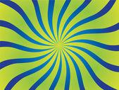 サーカスの波のベクトル、ポスターの背景 — ストックベクタ