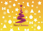 Merry Christmas background,vector — Stock Vector