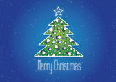 Merry Christmas Like It background,vector,Facebook,Snowflakes — Stock Vector