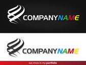 Company Logo Design,Vector — Stock Vector