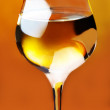White wine - Foto Stock