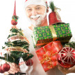 Santa is comung — Stock Photo #51216233