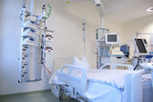 Intensive care unit with monitors — Stock Photo