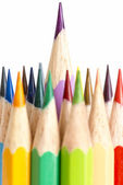 Outstanding pencil — Stock Photo