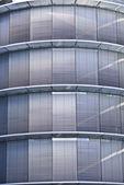 Corporate windows - Parking facade — Stock Photo