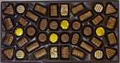 Chocolate's box — Stock Photo