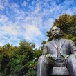 Statue of President Kyosti Kallio — Stock Photo