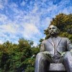 Statue of President Kyosti Kallio — Stock Photo