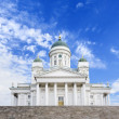 Helsinki White Cathedral — Stock Photo