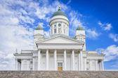 Cattedrale di helsinki bianco — Foto Stock
