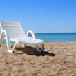 Royalty-Free Stock Photo: Beach chair on the sand