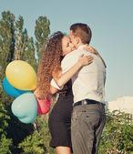 Coppia in amore — Foto Stock