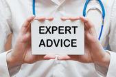 Expert Advice — Stock Photo