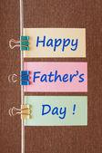 Día de padres felices — Foto de Stock