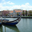 Boats in city of Aveiro - Portugal — Stock Photo #15014197