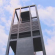 Tilt down of the Netherlands Carillon — Stock Video