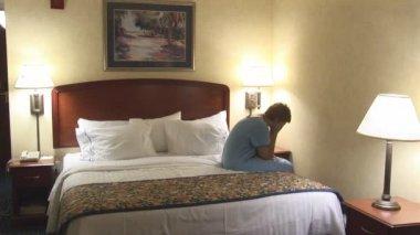 Mujer cansada — Vídeo de Stock