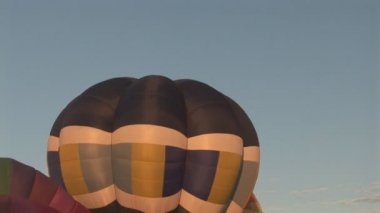 Hot air balloons — Stock Video