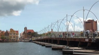 Willemstad, Netherlands Antilles — Stock Video