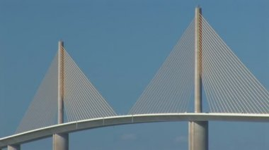 Sunshine Skyway Bridge — Stock Video