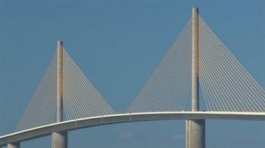 Sunshine Skyway Bridge — Stock Video