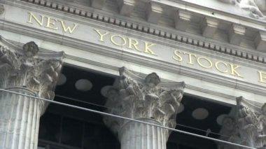 Wall Street — Stock Video