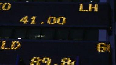 Stock market ticker — Stock Video