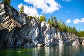 Marble Canyon and Lake — Stock Photo
