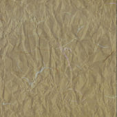 Old light brown crumpled rice paper texture — Stock Photo
