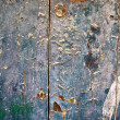 Weathered old door — Stock Photo