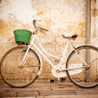 Vintage bicycle - Stock Photo