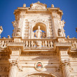 Detail of Lecce's cathedral — Stock Photo #12795901