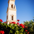 Bell tower, Lecce cathedral, Italy - Stock Photo