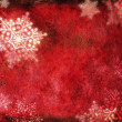 Royalty-Free Stock Photo: Red Christmas card