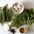 Bunch of herbs for cooking — Stock Photo #17408077