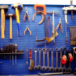Tools in auto repairs shop — Stock Photo