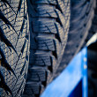 Tyre close up — Stock Photo
