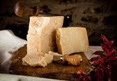 Parmesan cheese — Stock Photo