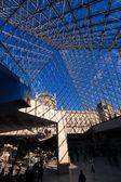 Inside the Louvre, Paris — Stock Photo