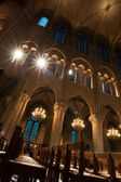 Notre Dame de Paris, interior — Stock Photo