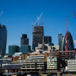 Stock Photo: City of London from river