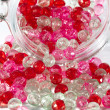 Pink and red beads — Stock Photo #25433169