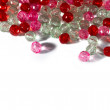 Pink and red beads — Stock Photo #25433189