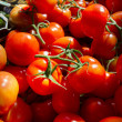 Tomatos at market — Stock Photo
